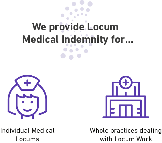 Types of Medical Locums we offer insurance to